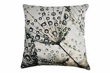 100% Cotton Cushion - Dandelion Dew Drops 45 x 45 cm