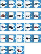 300 ml ceramica Bicchiere con motivo: Chevrolet auto modelli caffè tazza PARTE 2