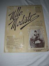 ANTIQUE 1905 MLLE MODISTE CHAS DILLINGHAM'S PRODUCTION KISS ME AGAIN SHEET MUSIC
