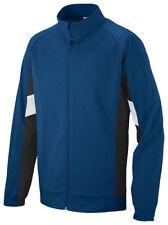 Augusta Sportswear Men's New Polyester Long Sleeve Zipper Athletic Jacket. 7722
