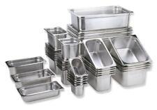 Gn 2//3 gastronormbehälter GN-recipientes de acero inoxidable 9,5 litros de profundidad 150mm gastronorm