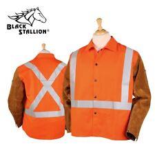 Revco Black Stallion Hi-Vis FR Hybrid Welding Jacket JH1012-OR