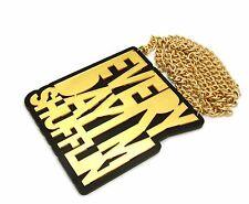 "New Everyday Im Shufflin Pendant & 10mm/36"" Cuban Chain Hip Hop Necklace - CP209"