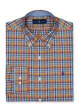 NWT Polo Ralph Lauren Men's Non Iron Plaid Oxford/Estate Dress Shirt MSRP $98.50