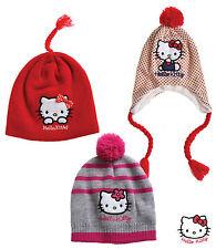 Hello  Kitty Mütze Wintermütze Kinder Girl Mädchen  Gr. 52 54 Neu OVP