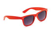 Mens damas Unisex Festival de estilo Vintage y Retro Clásico Diseñador Gafas para sol Naranja Nuevo