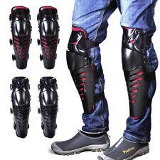 2x Bike Motorcycle Motocross Adults Knee Protector Guard Pad Shin Armor