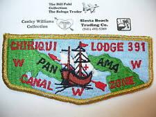OA Chiriqui Lodge 391 S-12,70s VIG,Panama Canal Zone,CZ