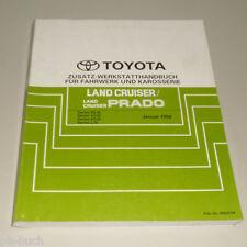Werkstatthandbuch Toyota Land Cruiser / Prado Zusatz Stand 01/1998
