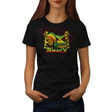 Jamaica Rasta Mobile Women T-shirt S-2XL NEW | Wellcoda