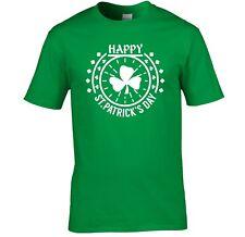 Herren St.Patricks Tag T-Shirt Heiliger Irisch Feier Party T-Shirt Irland