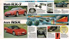 1993?1994 Mazda RX-7 vs Acura NSX Road Test Brochure , RX7 Twin Turbo