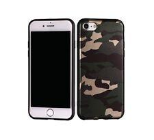 Custodia Cover Back Case Moro Green Design Militare - Mimetica in Silicone