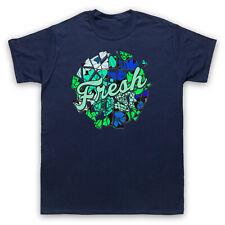 Fresh eslogan Retro Divertida Cool hipster de hombre Mujer Niños Camiseta