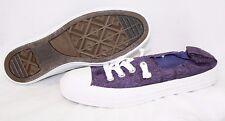 NEW Womens CONVERSE Shoreline Lace Purple 545413F No Tie Laces Sneakers Shoes