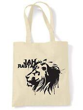 Jah Rasta \ a spalla shopping bag-REGGAE LEONE di Giuda rastafariana Bob Marley