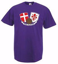 T-shirt Maglietta J1594 Ultras Viola Tradizione Curva Fiesole Hooligans
