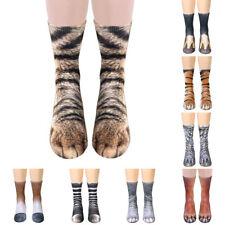Unisex Animal Paw Crew Socks Adult Kids Children Cotton Funny 3D Print Socks AU