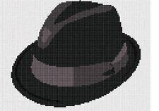 Fedora Needlepoint Kit or Canvas (Home)