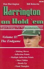 Harrington on Hold 'em Expert Strategy for No Limit Tournaments, Vol. 2: Endgam