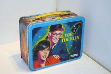 Mr. Merlin Tv Show - vintage metal lunchbox (Reduced Price)