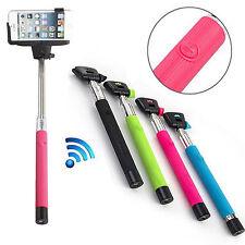 Bluetooth Shutter Extendable Selfie Stick Monopod for iPhone 6 6 Plus 5 5S 5C 4G