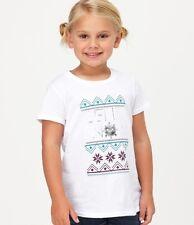 Roxy Kids Let It Snow Sz 5  Tee Shirt