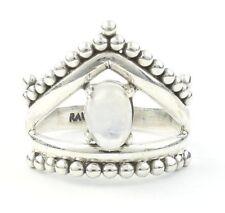 Moonstone Enchanted Ring, Sterling Silver Moonstone Ring, Rainbow Moonstone, Gem