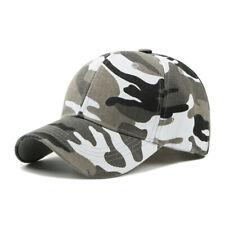 Men Army Camouflage Camo Casquette Climbing Baseball Cap Hunting Fishing Hat