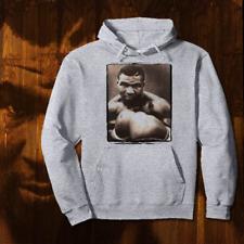 Retro Boxing Legend Tyson Hoodie 80s Retro Pullover Sweater MMA,UFC, gray, new