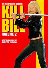 KILL BILL VOL VOLUME 2 TWO WIDESCREEN DVD MOVIE UMA THURMAN DAVID CARRADINE