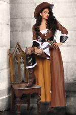 Donna Costume da pirata Piratessa Di Carnevale S M L XL XXL NEU #133