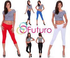 3/4 Leggings Gym Fittness Yoga pantalones de alta calidad Reino Unido Stock Tamaño 6-22 8390