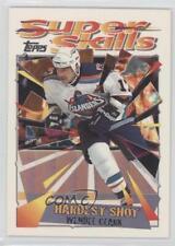 1995-96 Topps Super Skills #45 Wendel Clark Quebec Nordiques Hockey Card