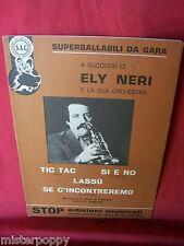 ELY NERI Libretto di 4 Spartiti 1980 Tromba Fisa Liscio Romagnolo