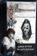 ITALY~ITALIA~1900's REGIO ESERCITO ITALIANO~FOGLIO DI CONGEDO ILLUMITATO~RPPC