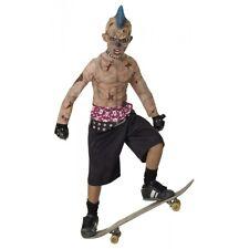 Zombie Skate Punk Costume Halloween Fancy Dress