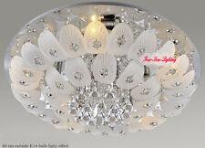 Modern K9 Crystal Chandelier Pendant Ceiling Lighting Living Room Pendant Lamp