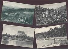 CEYLON 1900s UNUSED PPCs inc TEA ESTATE...4 CARDS