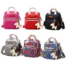 Multifunction Mummy Backpack Handbag Tote Shoulder Bags Baby Nappy Diaper Bag Ne