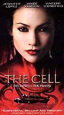 The Cell, Jennifer Lopez Vincent D'Onofrio, Vince Vaughn, Vhs, 2000