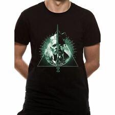 Hommes Crimes de Grindelwald Reliques la Mort Fendu T-Shirt - Fantastic Beasts