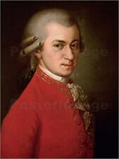 Poster / Toile / Tableau verre acrylique Wolfgang Amadeus Mozart