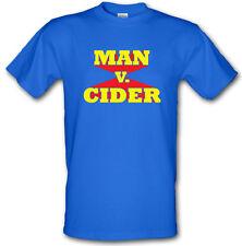 MAN V CIDER Man V Food style Funny TV Gildan Heavy Cotton t-shirt Small -XXL