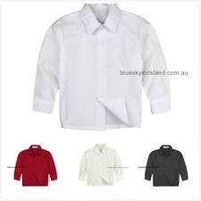 NWT Boys Button Up Long Sleeve Shirt Formal, Wedding and Communion sz 000–16