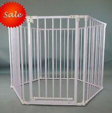 8 or 6 Panels Heavy Duty Pink Metal Baby Dog Pet Playard Playpen Pen Gate Fence