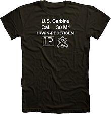 Irwin-Pedersen M1 Carbine Receiver Stock Stamp WWII T Shirt sling mag cartouche