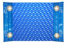 Cubierta térmica para piscina de 600 micras reforzada en los anchos