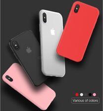 COVER CUSTODIA per Apple X ULTRA SOTTILE SEMI TRASPARENTE SLIM PP CASE MATERIAL