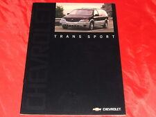 CHEVROLET Trans Sport Prospekt von 2001